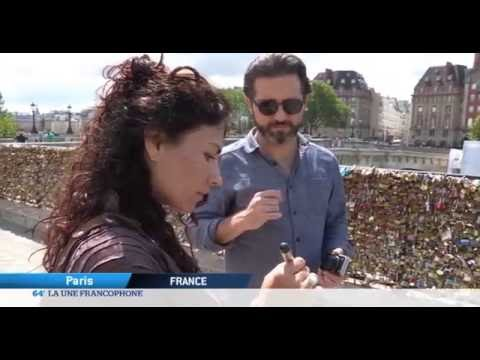 Paris : cadenas de l