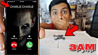DO NOT PLAY CHARLIE CHARLIE CHALLENGE WITH FIDGET SPINNER AT 3AM!!! *OMG SO CREEPY*