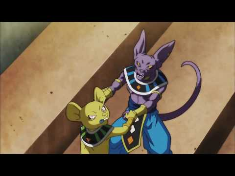 QUITELA CALLING BEERUS A CHEATER!!! DBS English subs 105.