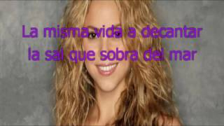 Shakira - Dia de Enero - karaoke letra