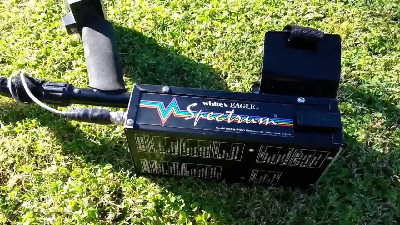 white s eagle spectrum it goes deep youtube rh youtube com white spectrum xlt metal detector manual white's spectra vx3 metal detector manual