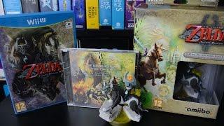 Unboxing Zelda: Twilight Princess HD - Special Edition
