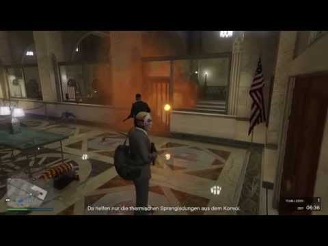 Grand Theft Auto V HEIST: PACIFIC STANDARD PUBLIC DEPOSIT BANK [GAMEPLAY] [PS4]