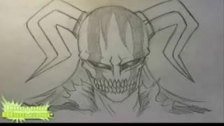 How to draw Full Hollow Ichigo [Bleach]