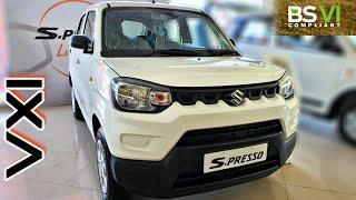 2020 Maruti Suzuki S-Presso VXI BS6 | On Road Price List | Mileage | Features | Specs