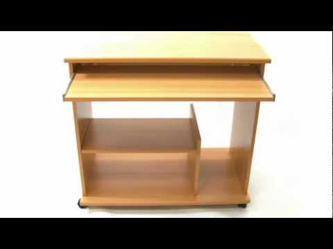 Mobil Computer Desk Assembly