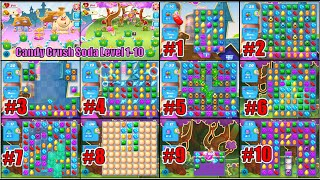 Begin With Early Episode Of Candy Crush Soda Saga Level 1-10