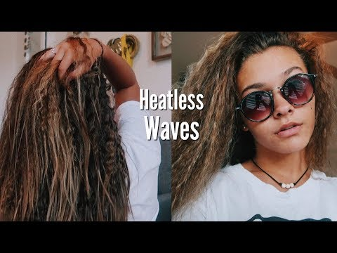A EASY WAY TO GET HEATLESS WAVES OVERNIGHT | Emma Marie