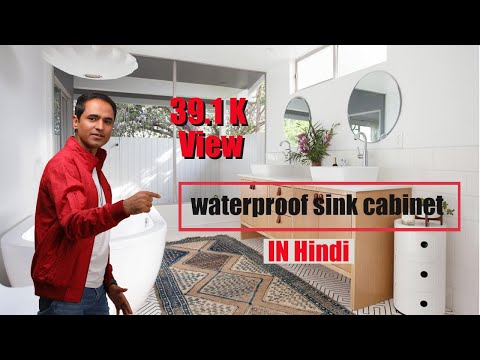 WPC & PVC Bathroom Vanity Making By ECOSTE Ebrid Board | 100& Water Proof & Cost Effective