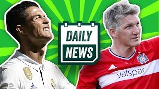Verlässt Cristiano Ronaldo Real? Smolov zum BVB und Reece Oxford zu Gladbach? Onefootball Daily News