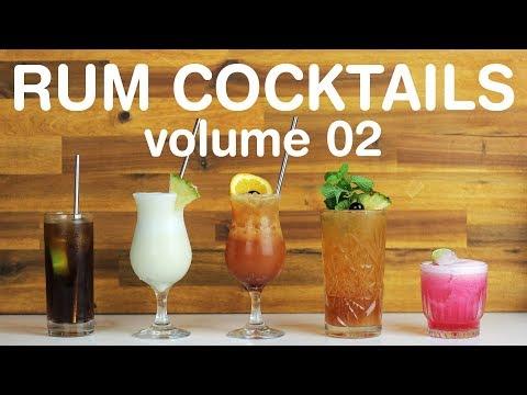 BEST RUM COCKTAILS - Volume 02