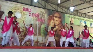 Cristian song dance....by dazling girls of st.atonys church (t.g.anna nagar,ayappakam)👍👌💐