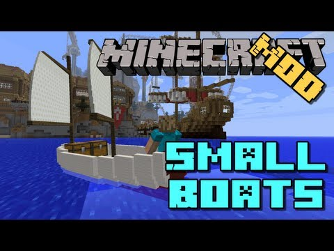 1 6 2] Small Boats Mod Download | Planeta Minecraft