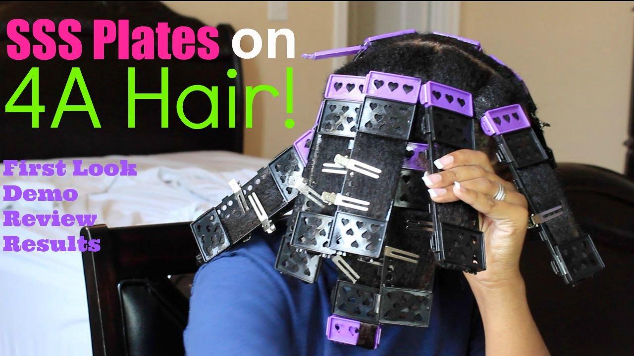 Cwk Girls Sss Plates On 4a Hair Youtube