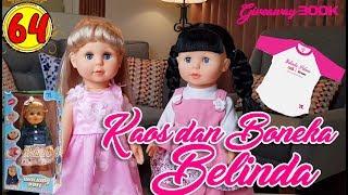 64 Kaos Dan Boneka Belinda - Boneka Walking Doll Cantik Lucu -7l  a233c00a8d