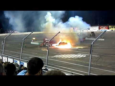 crash a rama Erie 2012 jet truck HD