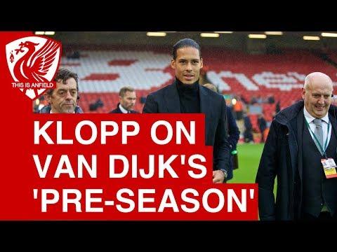 Jurgen Klopp on when Virgil van Dijk will make his Liverpool debut