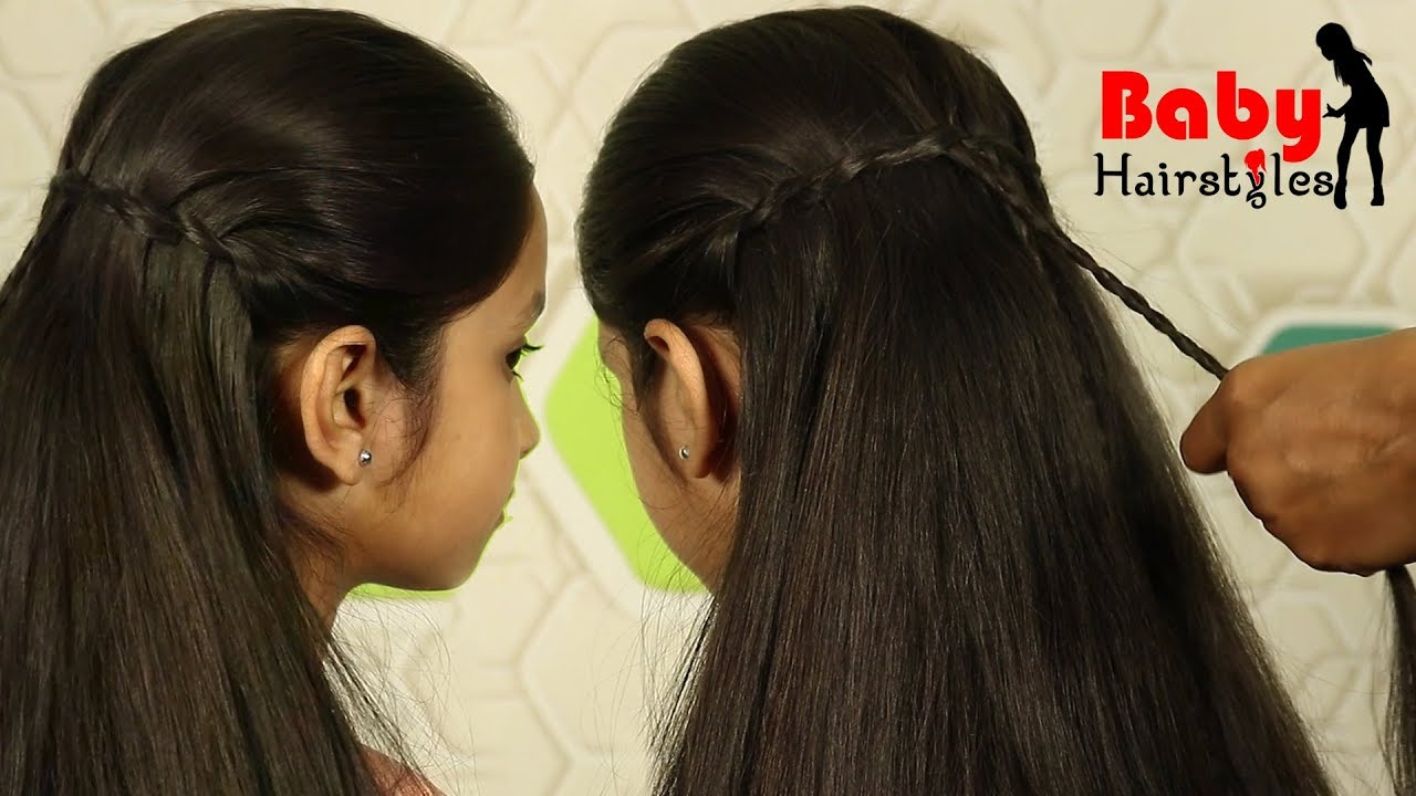 luxury and lovely hairstyle   cute baby girl latest hairstyle in