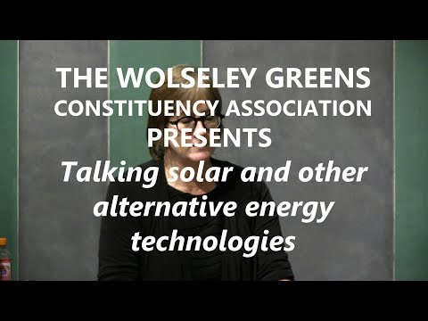 Talking Solar & other alternative energy technologies