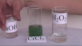 Окисление соединений хрома (III)