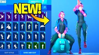 *NEW* NITEBEAM Skin Showcase With Dance Emotes! Fortnite Battle Royale