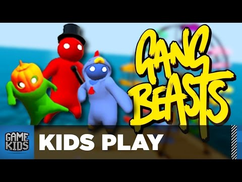 HERE COMES TEDDY! - Gang Beasts - Kids Play
