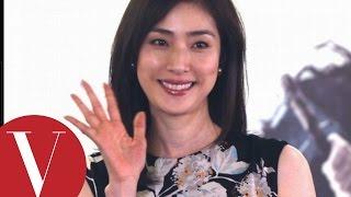 天海祐希Yuki Amami來台宣傳又水影展開幕片《蒼之亂》,首度來到台灣,...