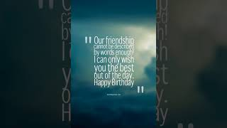 Heart Touching Birthday Wishes For Best Friend – TOP 20