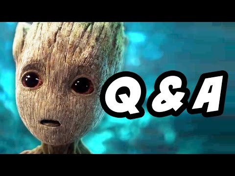 Guardians Of The Galaxy 2 Trailer Q&A - Dancing Baby Groot