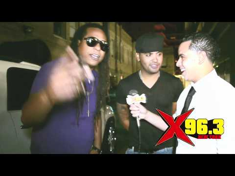 ZION Y LENNOX INTERVIEW BY JUANCHO FROM X96.3FM 2011