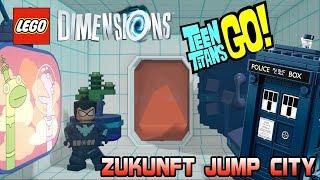 Jump City (Zukunft) - Lego Dimensions Teen Titans Go Adventure World Part 4 Deutsch | EgoWhity
