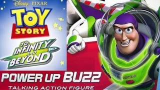 Power Up Buzz Lightyear Action Figure Disney Toy Story Light up To Infinity and Beyond Pixar