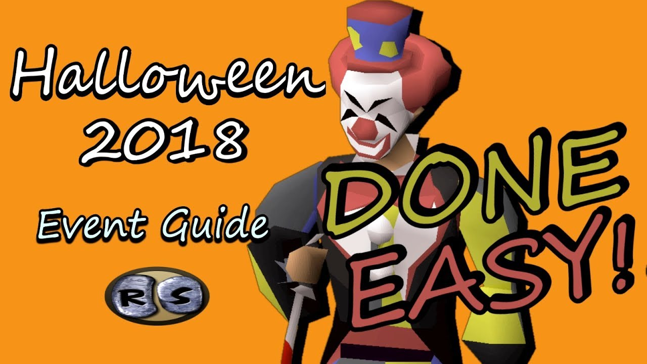 Osrs Halloween Event 2018 Guide Done Easy Youtube