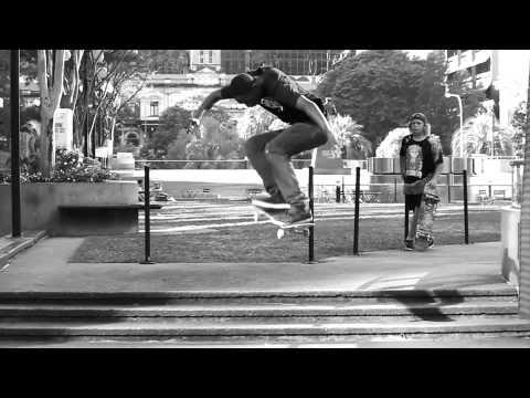 Skating the Brisbane City