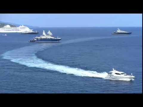 Монако. Княжество миллионеров -2. The Principality of Monaco. The country is rich. 摩纳哥公国。该国丰富。
