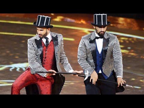 Arjun & Ranveer Pays Tribute To Salman Khan @ IIFA 2015