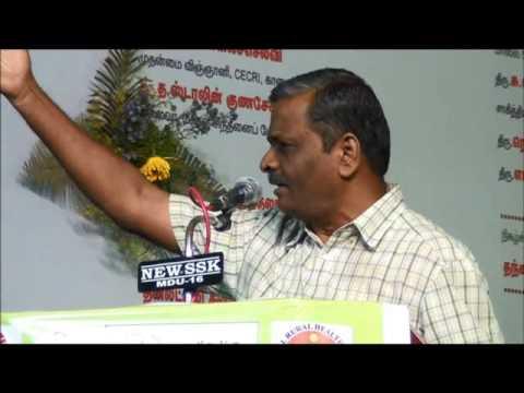 Tamil Selvan Speech - Perambalur Book Fair 2014
