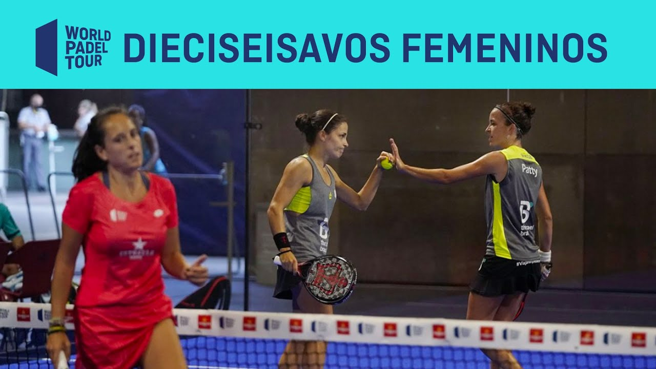 Resumen Dieciseisavos de Final (Primer Turno) Femenino ADESLAS Open 2020
