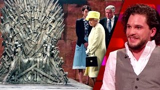 The QUEEN Not Allowed on the Iron Throne? - The Graham Norton Show