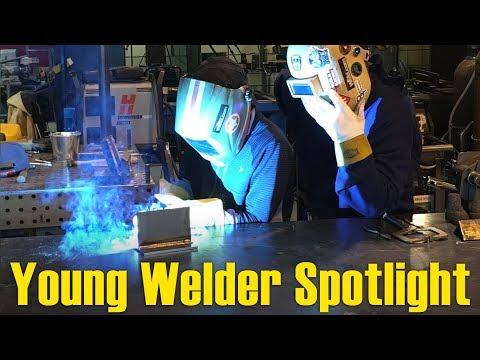 🔥 Young Welder Spotlight: MIG Welding with Cody