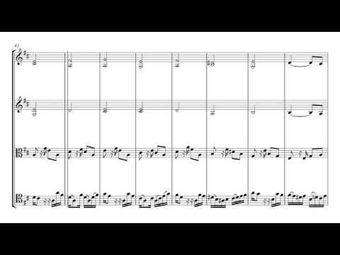 Villoldo El Choclo | String Quartet Sheet Music