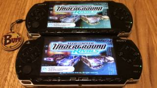 Two PSP Multiplayer Need For Speed - Underground Rivals WIFI FULL HD