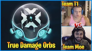 Lucky True Damage Orbs Opening | Team Tyler1 vs Team Yassuo Scrims | LoL Daily Moments Ep 713