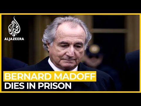 Bernard Madoff, Ponzi scheme mastermind, dies at 82