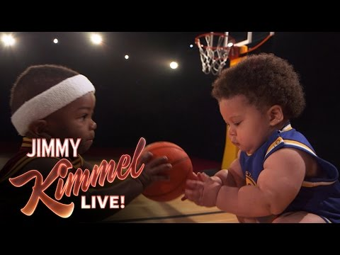 Thumbnail: Baby Steph Curry and Baby LeBron New Energy Drink