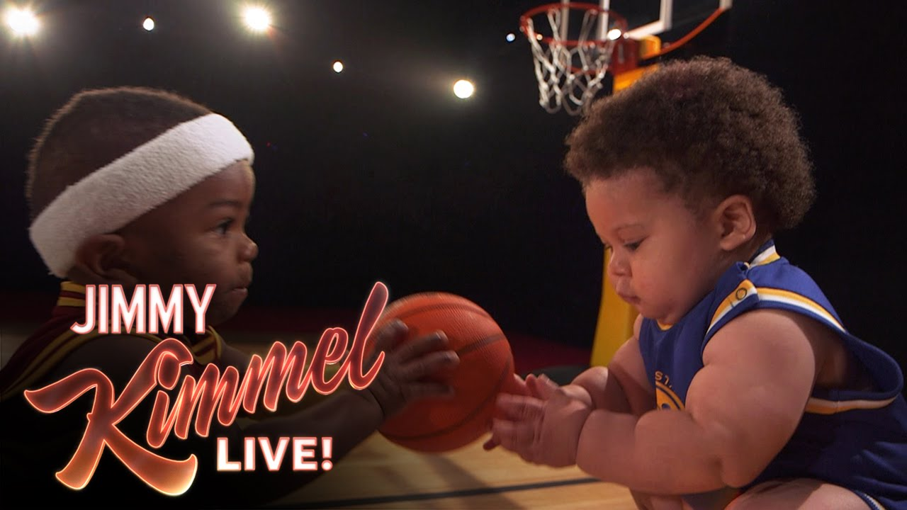 Baby Steph Curry and Baby LeBron New Energy Drink - YouTube