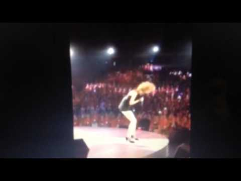 Taylor Swift Fell Down at the Target Stage