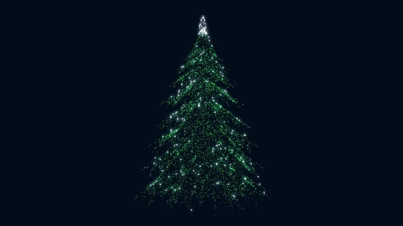 Free HD Christmas New Year 2014 Tree 3d loop animation. - YouTube