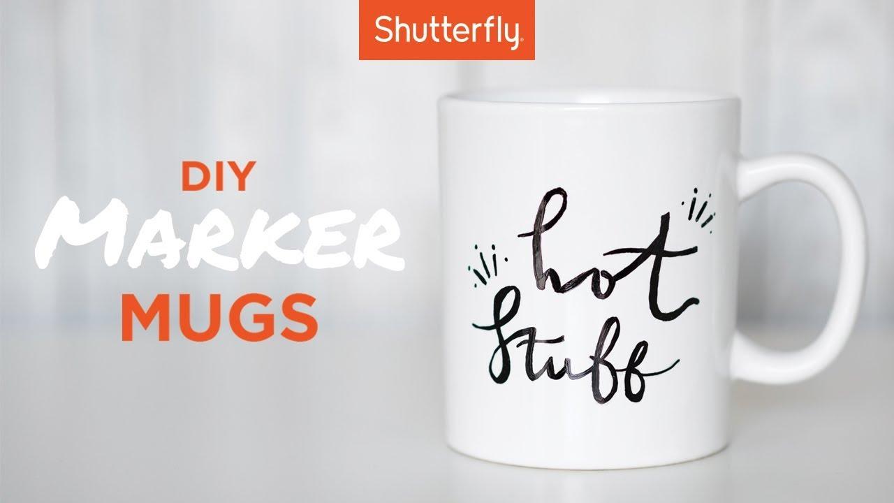 Diy Marker Mugs In 10 Easy Steps You