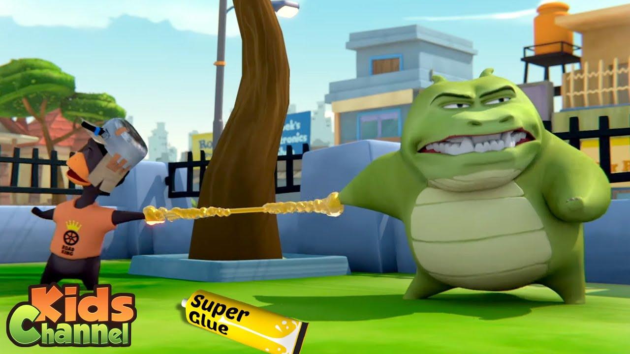 Super Glue - Gob And Friends Cartoon Videos   Stories for Children - Kids Channel